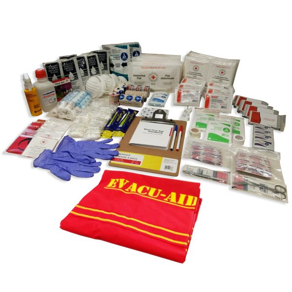 An extensive first aid spread