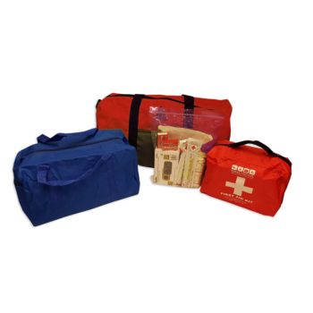 deluxe 6 day 1 person emergency kit - packed.