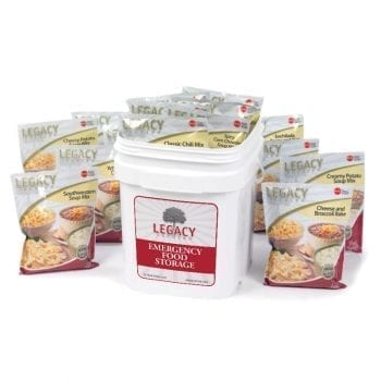 Legacy Foods 60 Serving Bucket