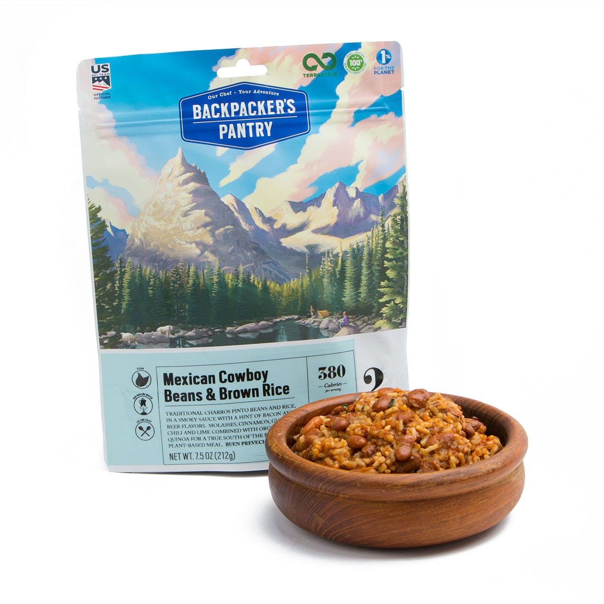 BP Mexican Beans and Rice – Pouch and Bowl