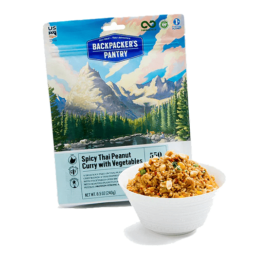 BP Spicy Thai Peanut Curry – Pouch and Bowl