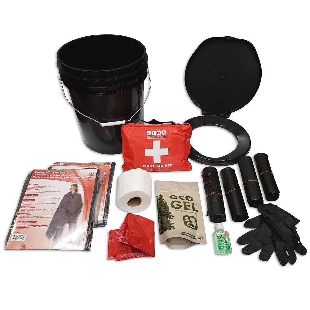 Cabinet Kit - Sanitation and First Aid