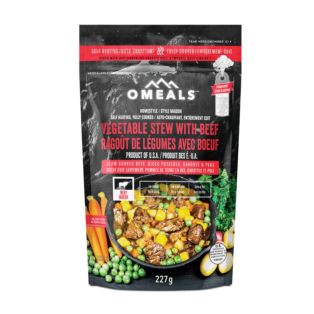Canada OMEALS Beef Stew