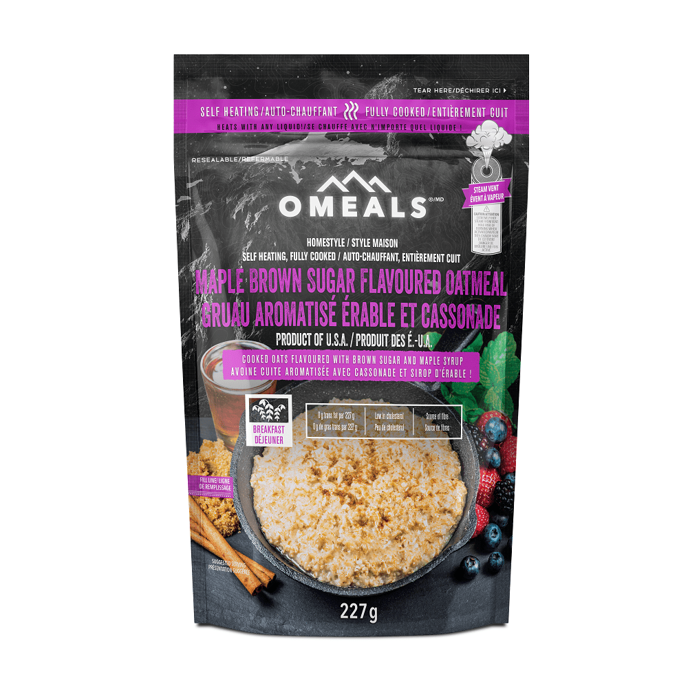 Canada OMEALS Maple Oatmeal