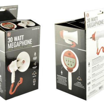 Compact Megaphone - box