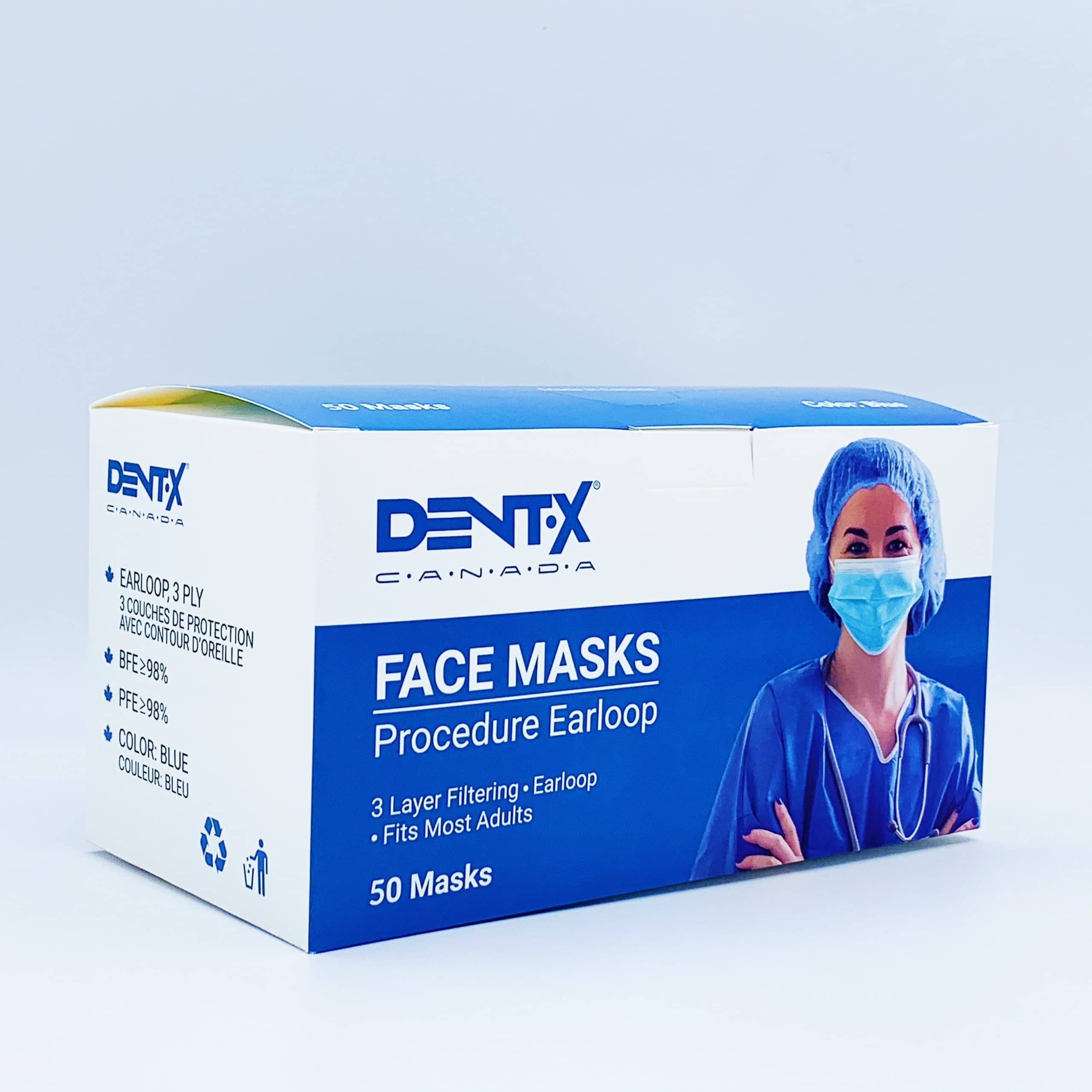 Dent-X level 3 mask box