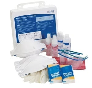 a family infection protection kit