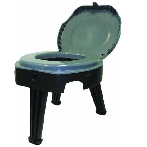 Creature Comforts in the form of a folding toilet!