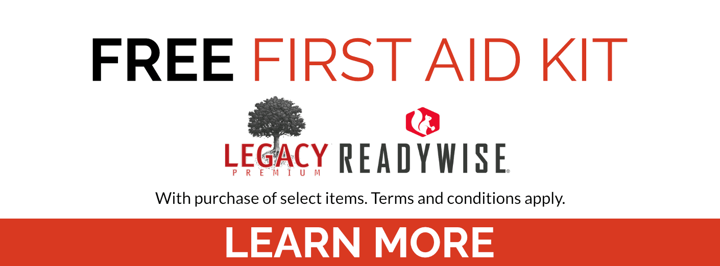 Free First Aid Kit with purchase of selected items. Terms and conditions apply. Click to learn more.