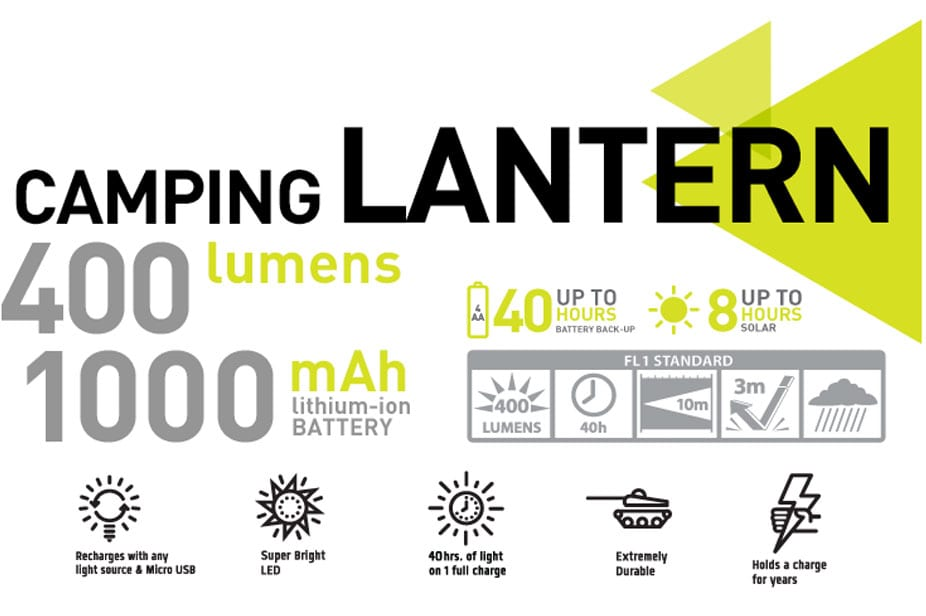 Hybrid Solar Camping Lantern 5