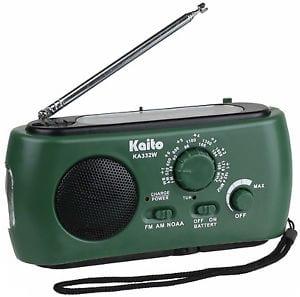 Kaito KA332W Radio flashlight