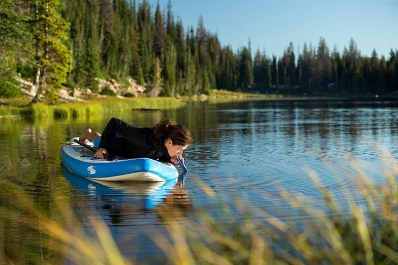 LifeStraw Steel tested on a Paddle Board