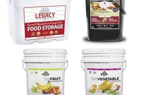 Legacy, Wise, and Augason Freeze Dried Food