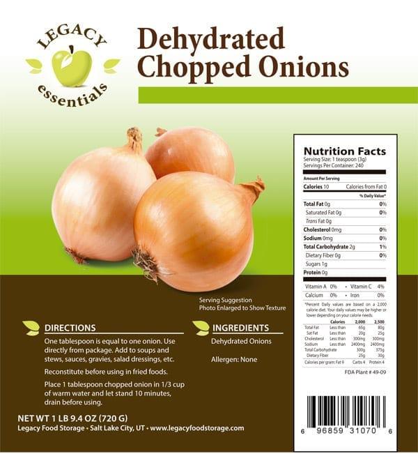 Onions Label