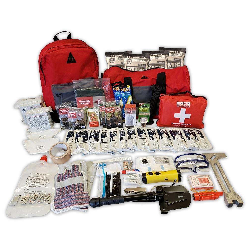 Premium 2 Person Emergency Kit 1000px