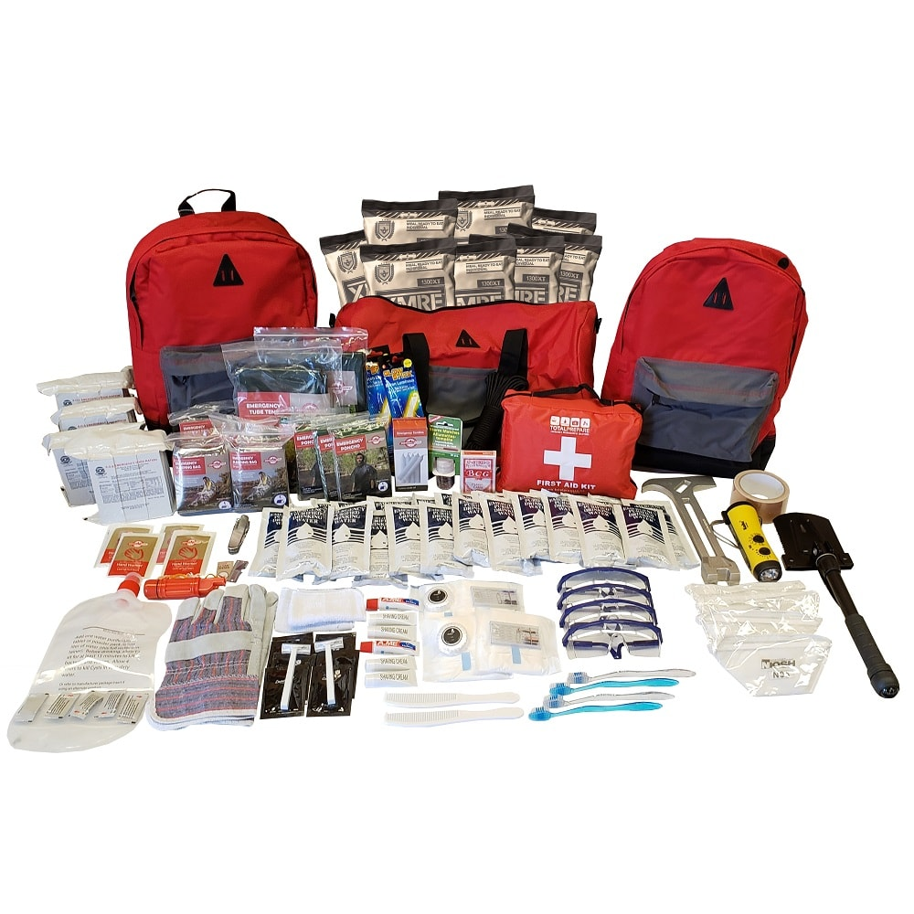 Premium 4 Person Emergency Kit 1000px