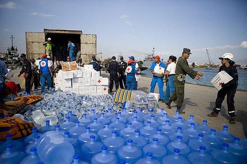 Red Cross Relief Efforts