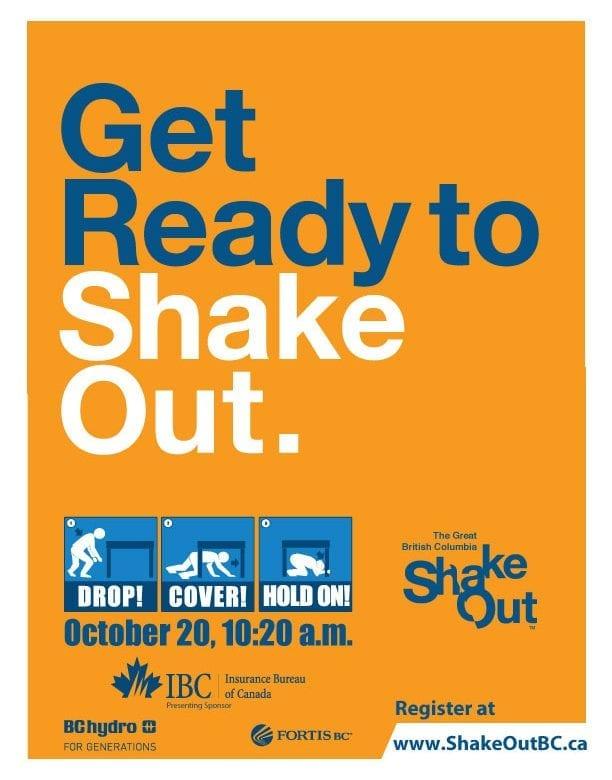 Shake Out BC