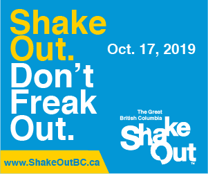 Shake Out BC Poster