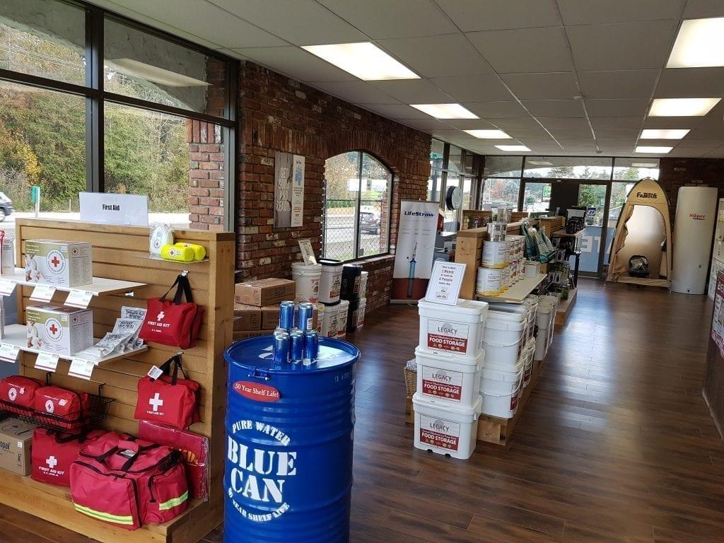 Total Prepare Store Interior