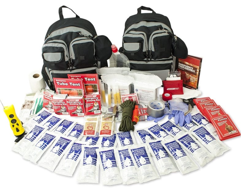 Urban 4 person survival kit
