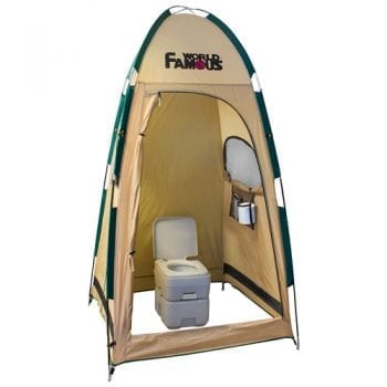 Privacy shelter toilet tent