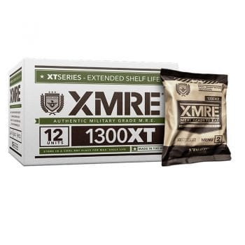 XMRE Case with Meal Pouches