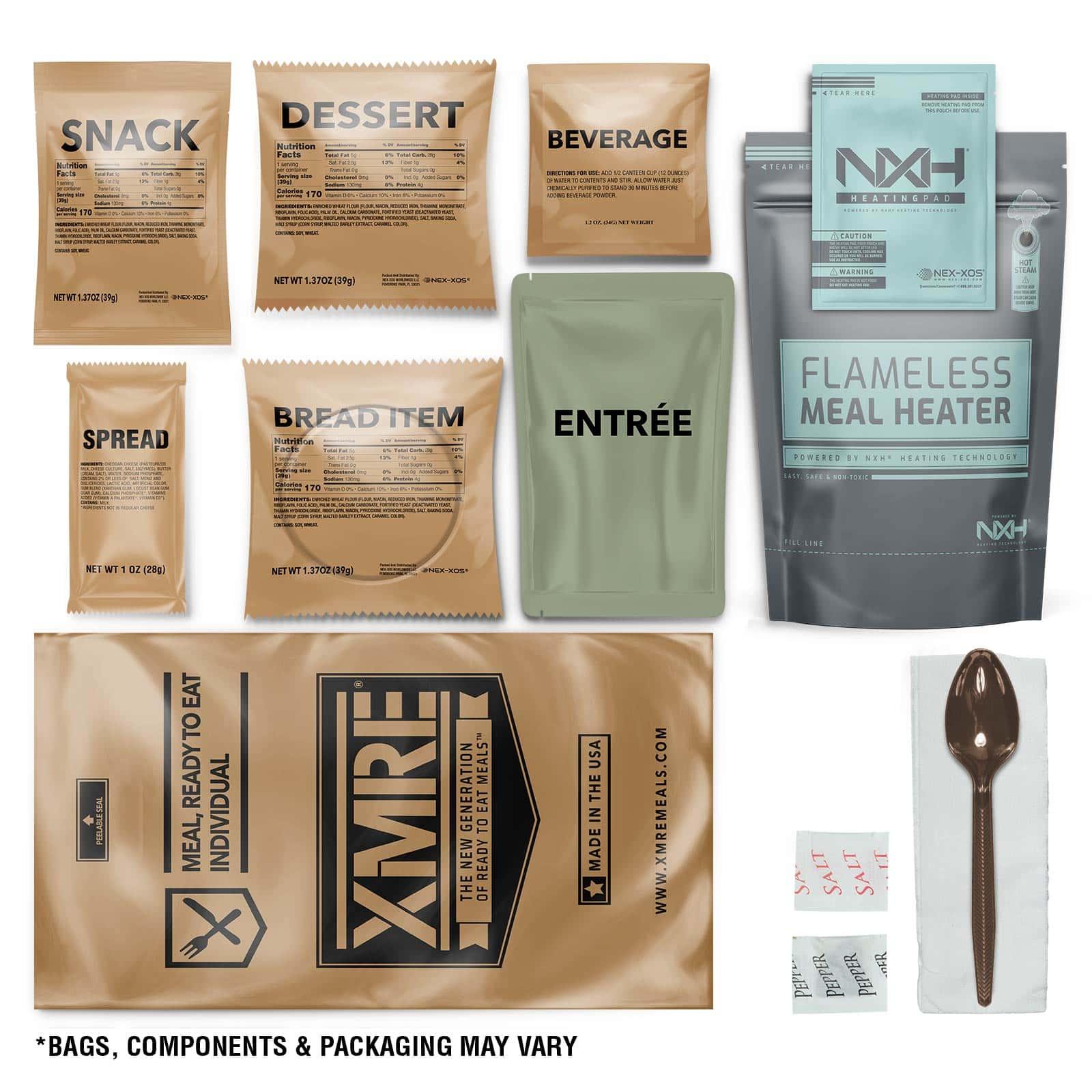 XMRE components