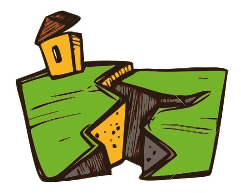 Earthquake clip art