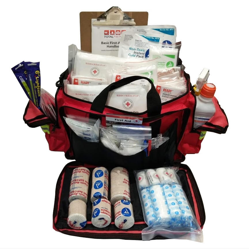 Trauma First Aid Kit for 50