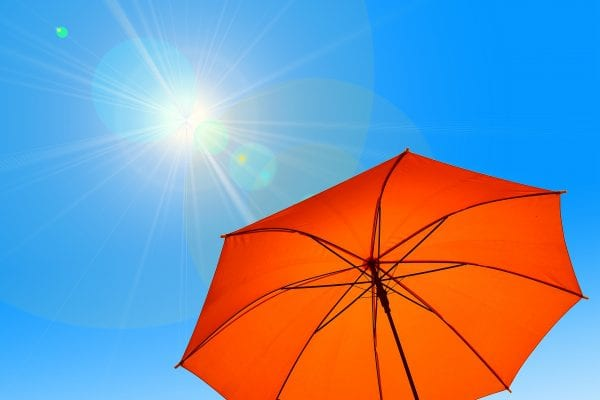 Summer Sun with Parasol
