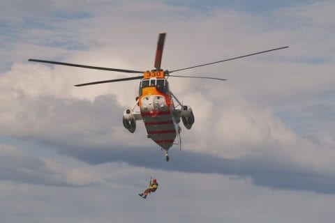 Rescue Insurance helps with heli lift costs
