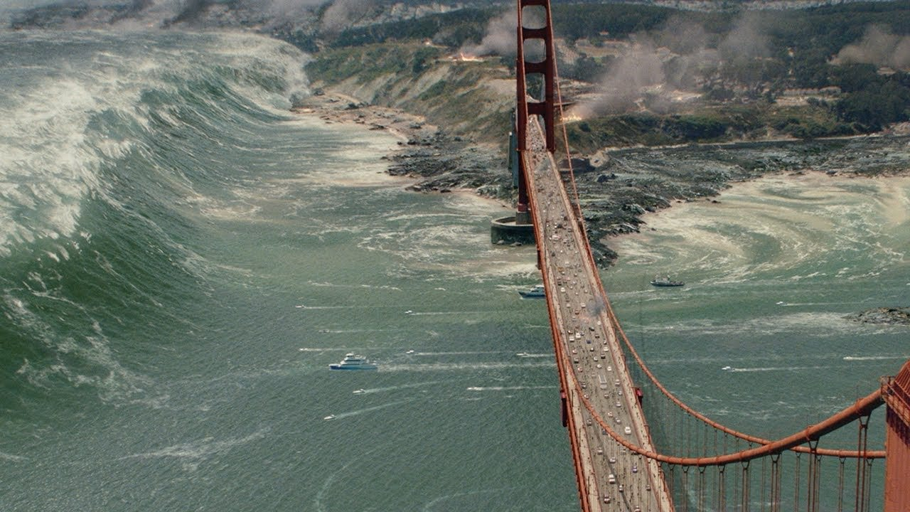 San Andreas Tusnami Scene